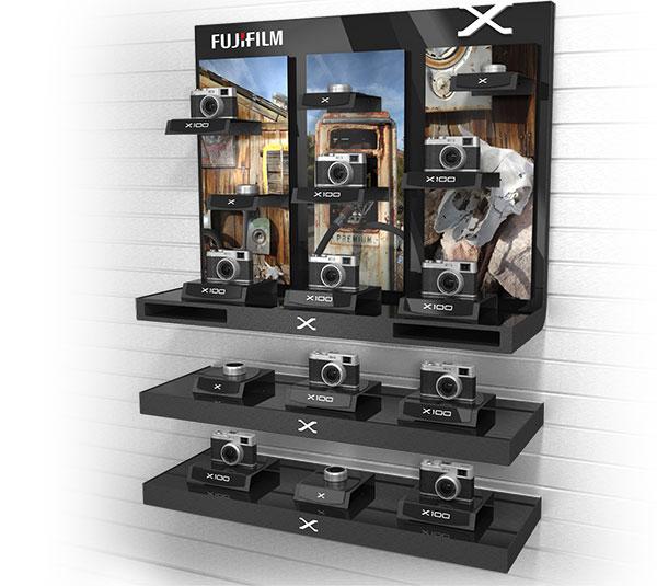 example of FUJIFILM X-Camera Inline Display