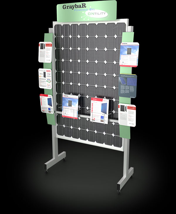 example of Ontility Solar Panel Display