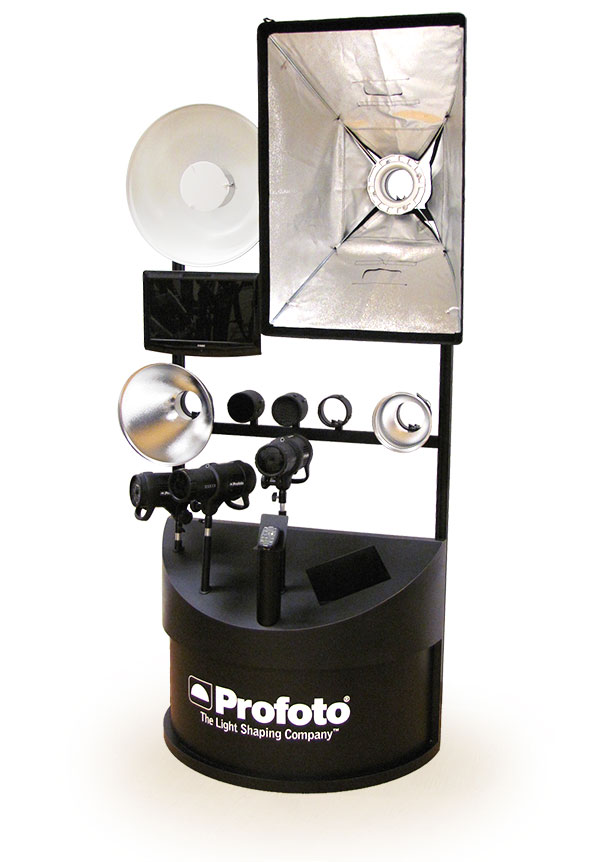 example of Profoto Lighting Display