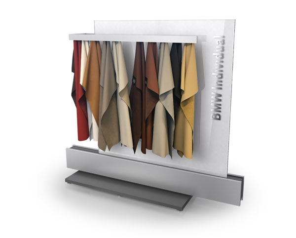 example of BMW Individual Leather Display