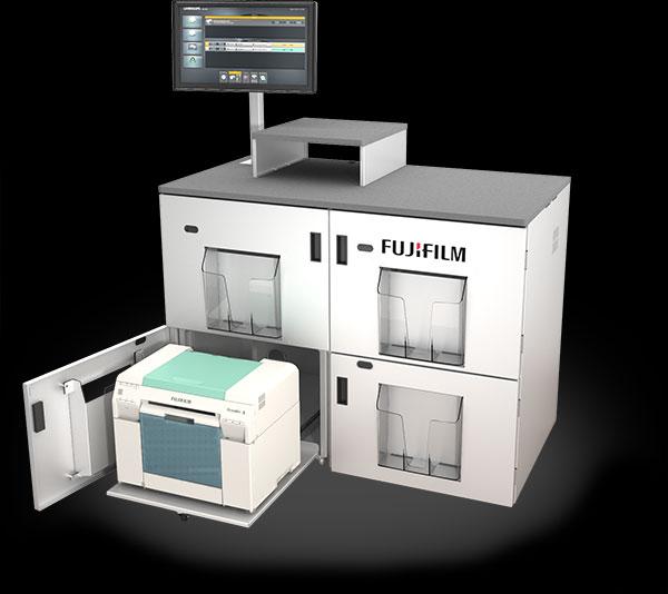 example of FUJIFILM P4 Printer Workstation