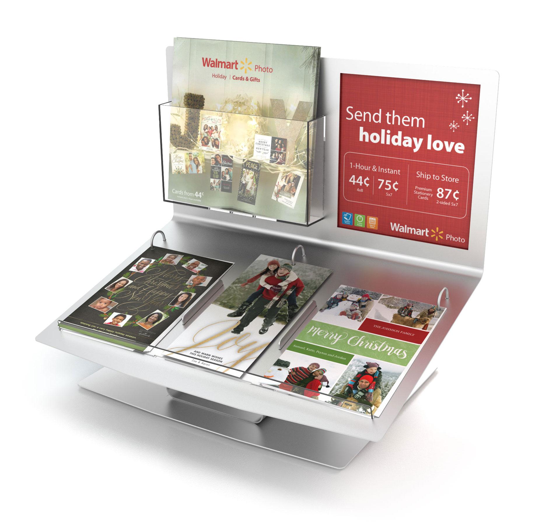 example of FUJIFILM Photo Greeting Card Display