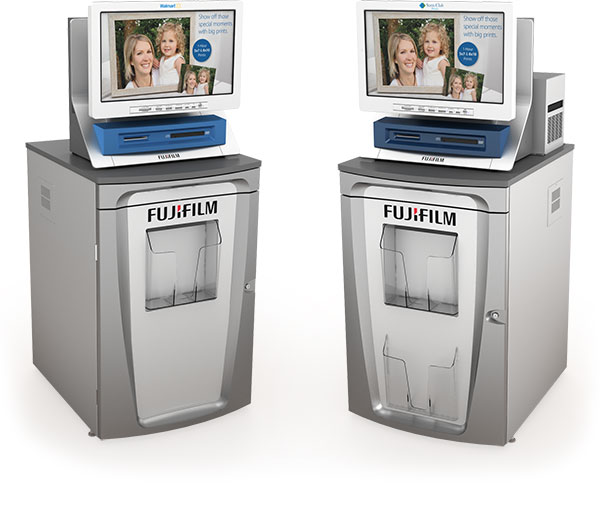 example of FUJIFILM P1 and P2 Printer Cabinet